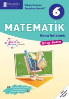 Bilgiyolu - 6.Sınıf - Matematik- Konu Anlatımlı-(2018-2019)'