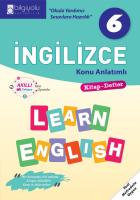 Bilgiyolu - 6.Sınıf - İngilizce - Konu Anlatımlı-(2018-2019)'