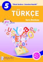 Bilgiyolu - 5.Sınıf - Türkçe - Soru Bankası-(2018-2019)